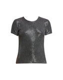 Eddie Clear Sequin Tee