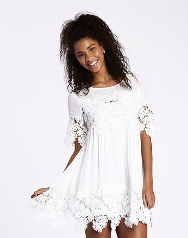 Eden Lace Babydoll Dress