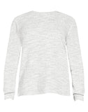 ELEMENT 2TONE SWEATER SNOW GREY