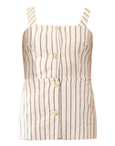 ENCHANT LINEN STRIPE TOP