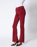 Ashley High Rise Corduroy Flare