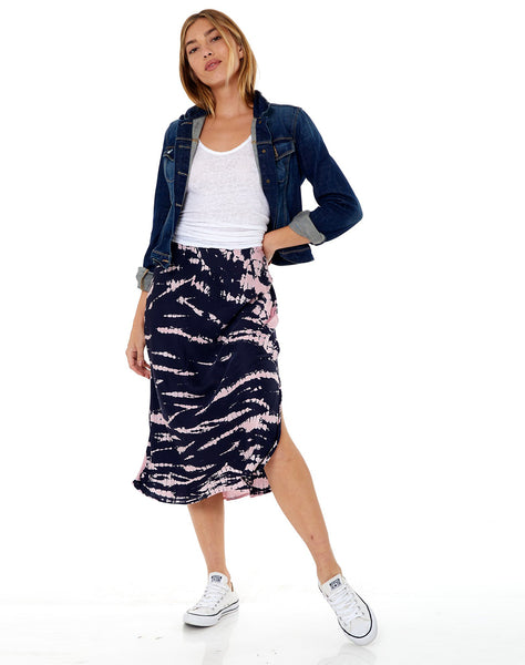 Felicity Skirt in Ink Bamboo Wash