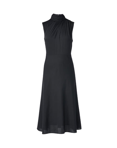 Finlee Mock Neck Midi Dress