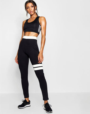 Fit Contrast Running Legging