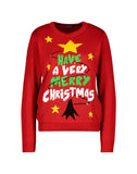 Flashing Light Up Christmas Jumper