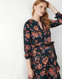 Floral Satin Blouse
