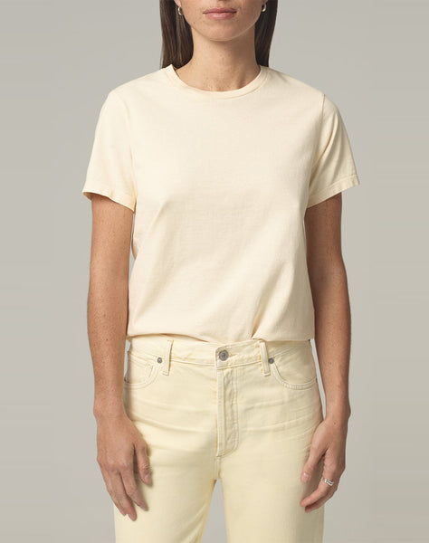 Frankie Classic T Shirt in Sunflower