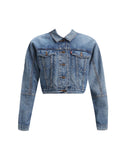 Future Vintage Trucker Jacket Medium Wash