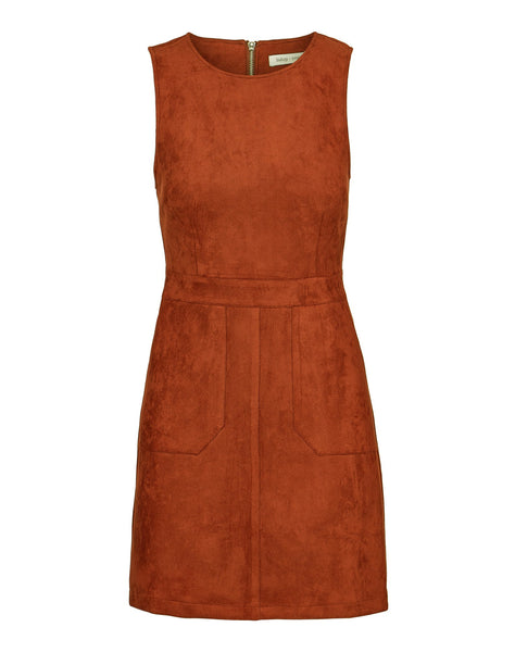 Gemma Faux Suede Dress