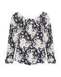 Genevieve Blouse Shadow Bloom