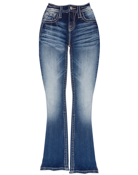 GIRLS WESTERN THING BOOTCUT JEANS