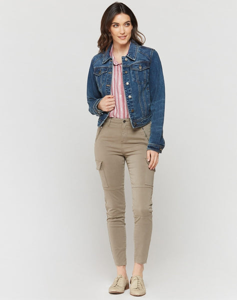 Gloria Paradise Blue Denim Jacket