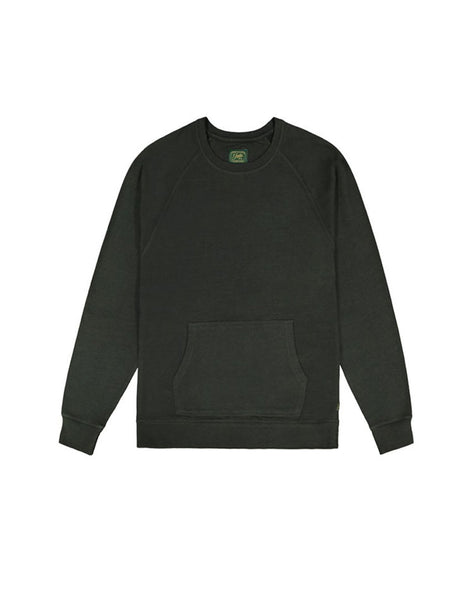 Green Fleece Crewneck Sweatshirt