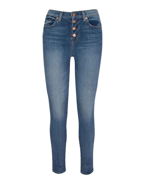 Gwenevere High Waist Ankle Skinny in Paloma