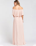 Hacienda Maxi Dress ~ Dusty Blush Crisp