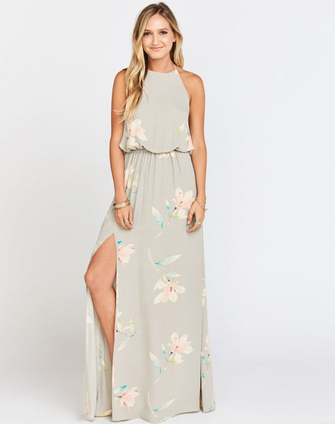 Heather Halter Dress ~ Lily Showers