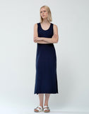 Heavy Jersey Tank Top Maxi Dress