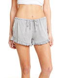 HEIRLOOM WOVENS RUFFLE HEM SHORT