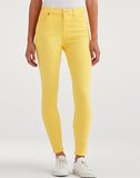 High Waist Ankle Skinny in Dandelion