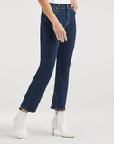 High Waist Slim Kick in Fated Rinse