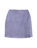 IT'S A WRAP SUEDE SKIRT