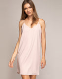 JANELLE MINI SLIP DRESS