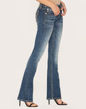 Just Wing It Slim Bootcut Jeans