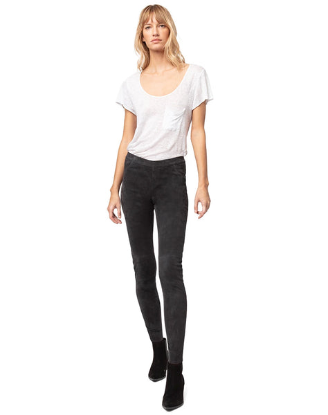 KENNY STRETCH SUEDE LEGGINGS