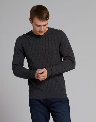 Knitted Cable Sweater