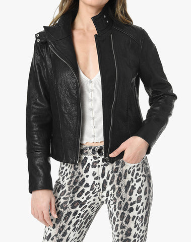 Lacy Leather Jacket