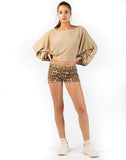 Leopard Weekend Short