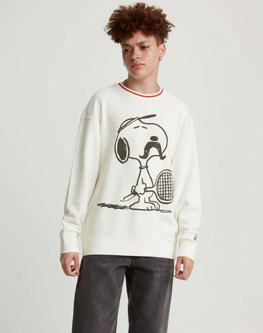 Levi's® x Peanuts Relaxed Crewneck Sweatshirt White - Multi-Color