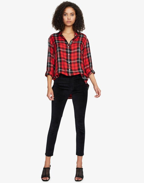Life Of The Party Boyfriend Shirt Party Red Plaid