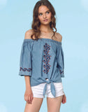 Lilianna Bubble Blouse