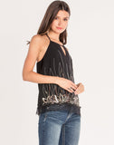 Living In Sequins Beaded Cami