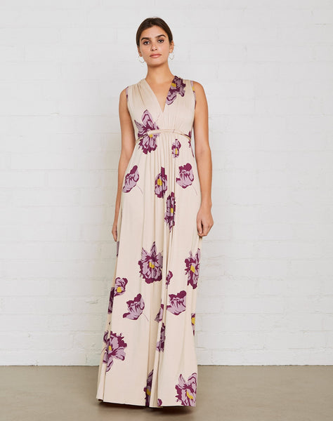Long Sleeveless Caftan Dress