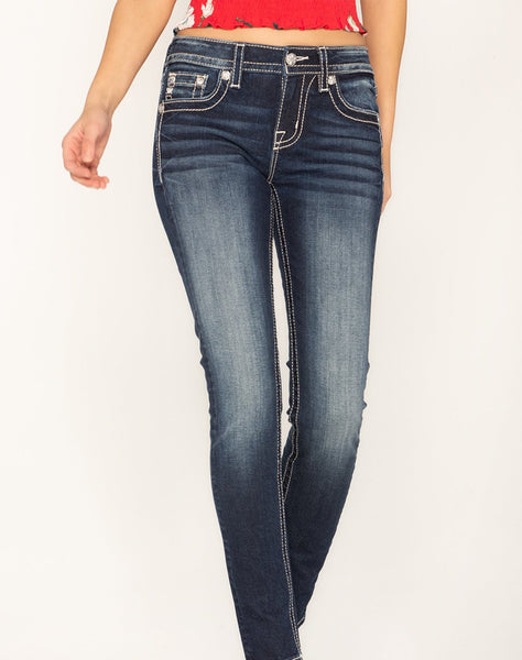 LOVE AND HOPE SKINNY JEANS