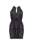 Lucia Keyhole Halter Dress