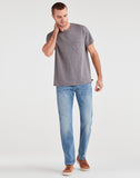 Luxe Performance Adrien Slim Tapered with Clean Pocket in Zeitgeist
