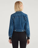 Luxe Vintage Shrunken Jacket in Stellar