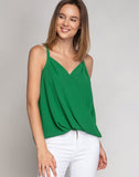 MAGNOLIA SURPLICE TANK TOP