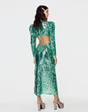 Marais Sequin Maxi Dress