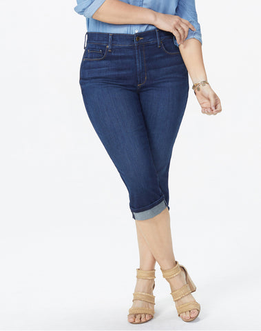 Marilyn Straight Crop Jeans In Plus Size - BEZEL
