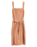 MARILYN SUEDE DRESS