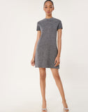 Metallic Mod Dress