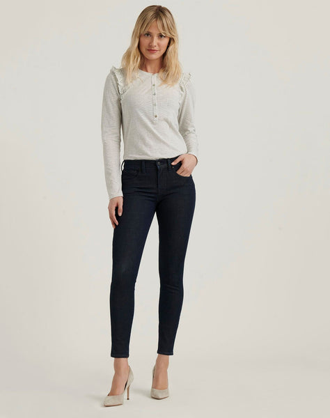 Mid Rise Ava Super Skinny 4-Way Stretch Jean