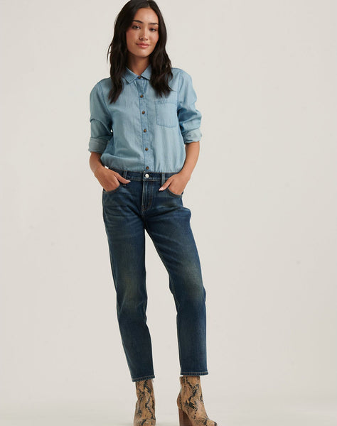 Mid Rise Sienna Slim Boyfriend 4-Way Stretch Jean