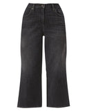 Mile High Wide Leg Women's Jeans Call It A Night - Grey
