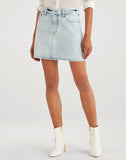 Mini Skirt In Cloud