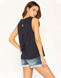 Mixed Emotions Sleeveless Top